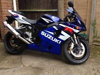 Suzuki GSXR 600 K4 1443 miles superbike