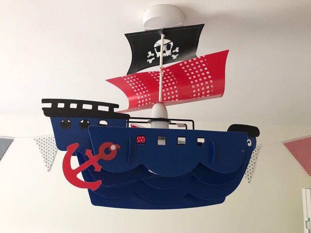 Next Pirate Ship lampshade