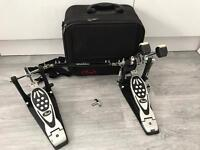 Pearl double bass drum pedal kick drum pedal