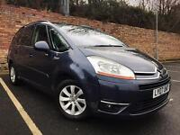 AUTOMATIC CITROEN GRAND C4 PICASSO 2.0 HDI EXCLUSIVE EGS 7 SEATER [not zafira touran s max galaxy]