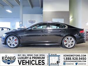 2012 Jaguar XF XFR (NAVIGATION/510 HORSE POWER)