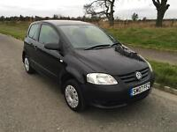 VW FOX 1.2•LOW MILES•FSH(10 stamps)•1 OWNER•not polo golf fiesta Corsa 107 Clio punto Astra c1 c2