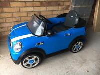 Kids Mini Cooper ride on 6v car
