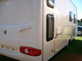 avondale dart 2008 6 berth fixed rear bunk beds awning one owner great condition