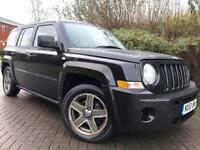 2010 JEEP PATRIOT SPORT 2.0 CRD BLACK SERVICE HISTORY-SERVICE BILLS SUV 4x4
