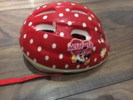 Minnie mouse helmet
