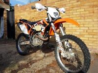 KTM EXCF-350 2011, low hours, ultra reliable, well looked after, low price for quick sale £3600