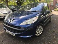 57 plate - Peugeot 207 Hdi - 1.6 diesel - £30/ year road tax