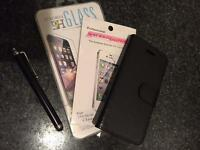 IPhone 5c flip case, tempered glass screen cover & more NEW!