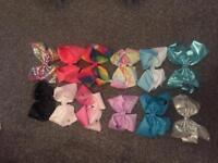 12 x large jojo siwa bows