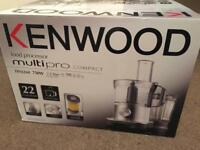 Kenwood food processor new and in box