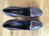 Guess leather shoes size 36 uk 3