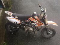 Slam 70 pit bike