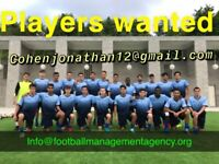 Urgent Football Agent looking for serious male/ female players ages 14-27 years