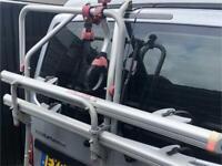 Fiamma Two Bike Carrier / Rack for Vw T5 ( Barn Doors )