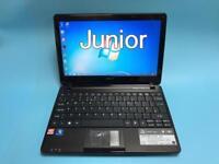 Acer Slim HD Laptop, 250GB 2GB Ram, HDMi, Immaculate Like New, Microsoft office, Win 7