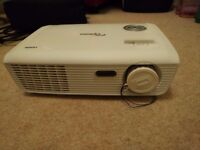Optoma HD Projector, 100 inch display, 1080p, 3D ready, suitable for TV/Gaming/PC use