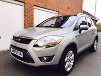2010 Ford Kuga Titanium 2.5 Turbo Petrol 200bhp Automatic*Just Serviced*Full MOT*Nt Q5 antara tiguan
