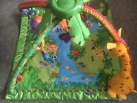 Fisher Price musical Jungle play mat