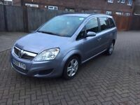 2009 VAUXHALL ZAFIRA 1.9 EXCLUSIV MANUAL 5 DOOR MPV DIESEL**PCO AVAILABLE**