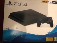 Play Station 4 / PS4 SLIM 500GB BLACK