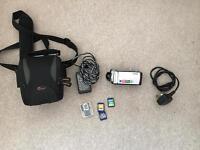 Sony DCRSX33ES Flash Memory Handycam Camcorder -Silver