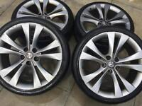 """20"""" Alloy wheels off of Vauxhall Insignia VXLine Red SRI"""