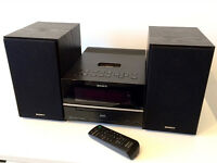 SONY HCD/CMT-BX77DBi Hi-Fi DAB, CD Player, iPod Dock, MP3 W/Speakers & Remote - Used Great Condition