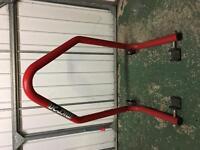 Micron rear paddock stand
