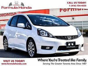 2013 Honda Fit SPORT | BLUETOOTH | ONE OWNER | ACCIDENT FREE