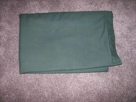 Very Large green material, new.