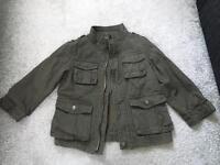 Khaki jacket 18-24 months