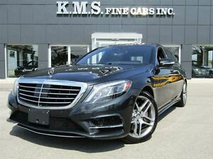 2014 Mercedes-Benz S-Class S550 LWB| REAR POWER SEATS| AMG SPORT