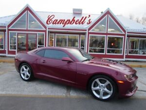 2014 Chevrolet Camaro 2SS/RS 6.2L V8 6SP STD!! SUNROOF HTD LTHR