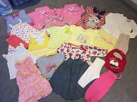 Baby girl clothes bundle 3-6 6-9 9-12 12-18 months