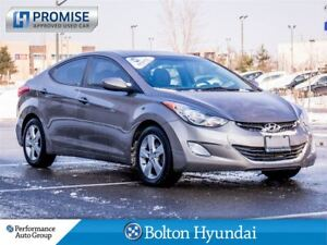2013 Hyundai Elantra GLS. CPO. Sunroof. Heated Seats. Alloys. Bl