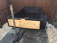Wooden trailer 6x4 no longer required quick sale