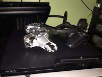 PS3 11 games 2 controllers 1 headset