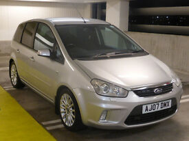 Ford C-Max 1.8 Titanium Silver high spec with rare option Bi-Xenon Headlights