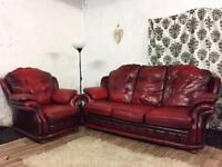Thomas Lloyd's Chesterfield 3 seater with chair**Free delivery**