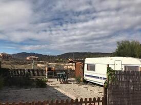 Large Caravan Plot for Rent