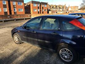 Ford Focus 2000 year mot May 2017