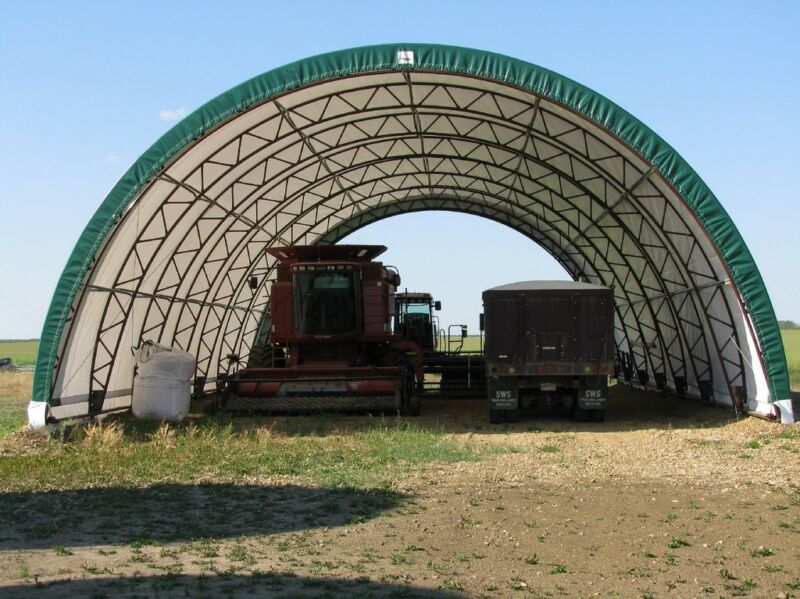 G&B Portable Fabric Buildings Winter Sale | Other Business ...