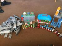 Thomas Take and Play sets and Trains