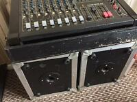 Studio mix master and speakers £200