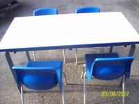 nursery table and chairs
