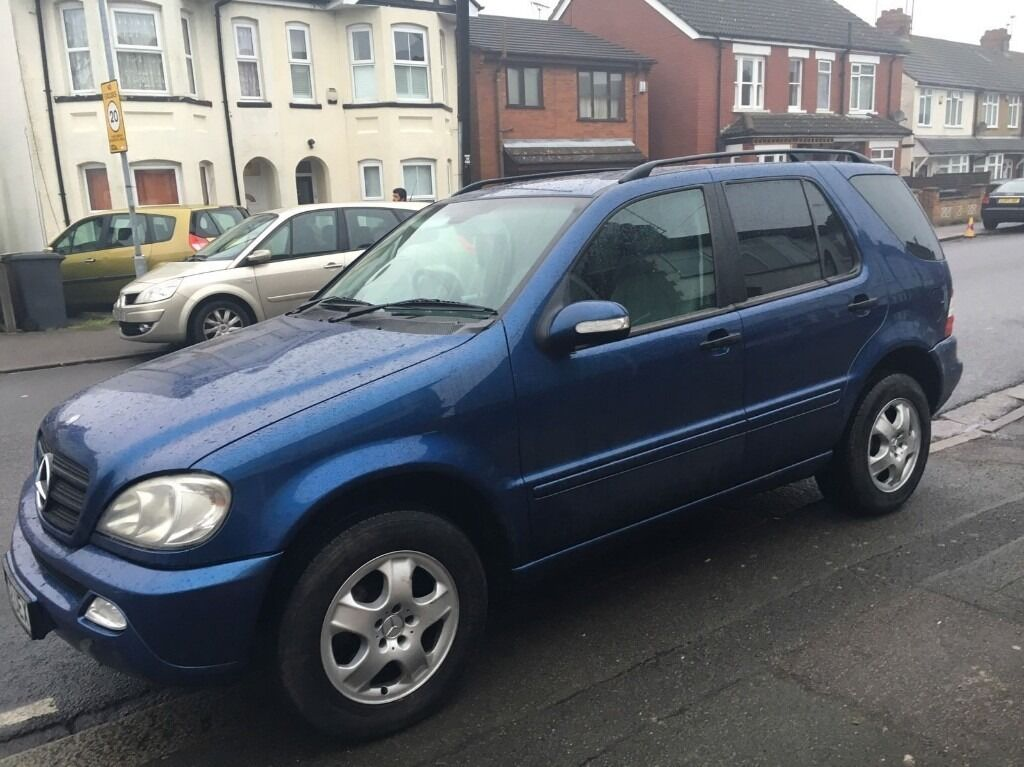 2002 mercedes ml 270 cdi automatic 7 seater in luton. Black Bedroom Furniture Sets. Home Design Ideas