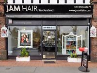 Receptionist/front of house/Manager hair Salon Croydon