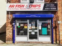 FISH CHIP / PIZZA SHOP FOR SALE