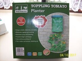 JOBLOT OF 50 TOPPLING TOMATO PLANTERS